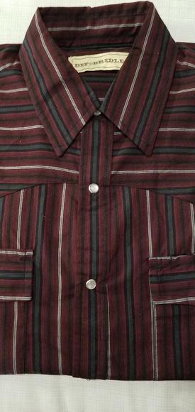 f83c871a Bit & Bridle Shirts   Bit Bridle Long Sleeve Western Mens Shirt ...